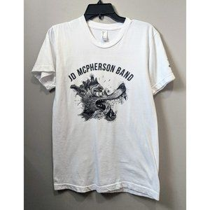 AMERICAN APPAREL JD McPherson Band Tee White Small